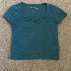 aerobic short-sleeved tee
